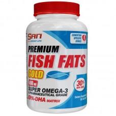 Premium Fish Fats Gold от SAN (60 кап.)