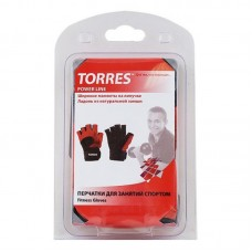 Перчатки для фитнеса TORRES PL6020